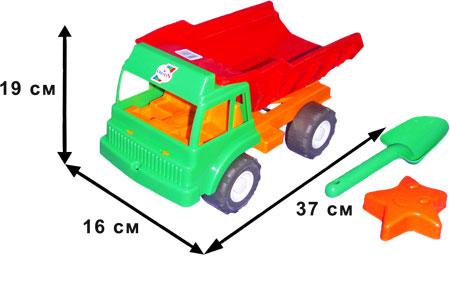 Машина грузовик песчаный 136