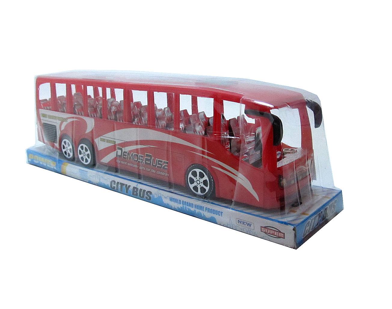 Автобус №TQ123-26A инерционный/колпак/33*8*10