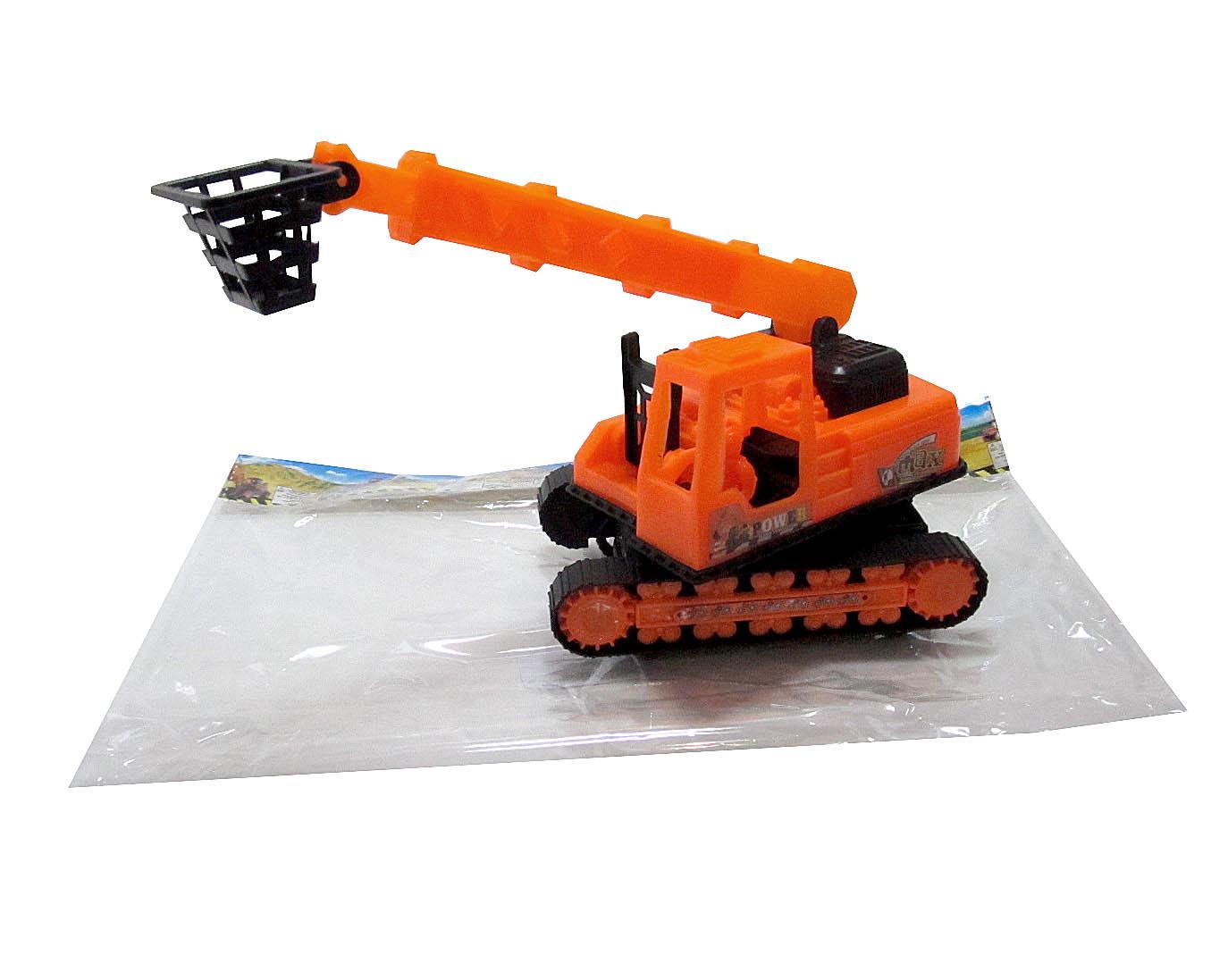 А/м строительная №399-12А с подвесной люлькой инерционная/пакет/25*9*13