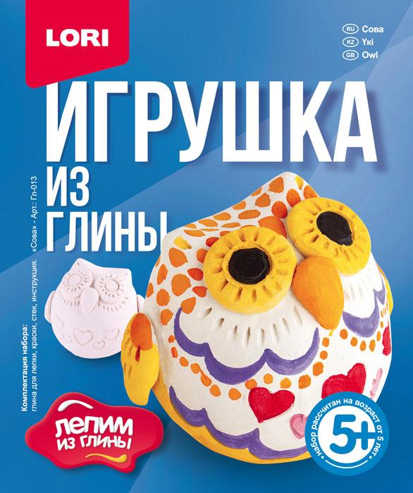 """Игрушка из глины """"Сова""""""""Гл-013"""