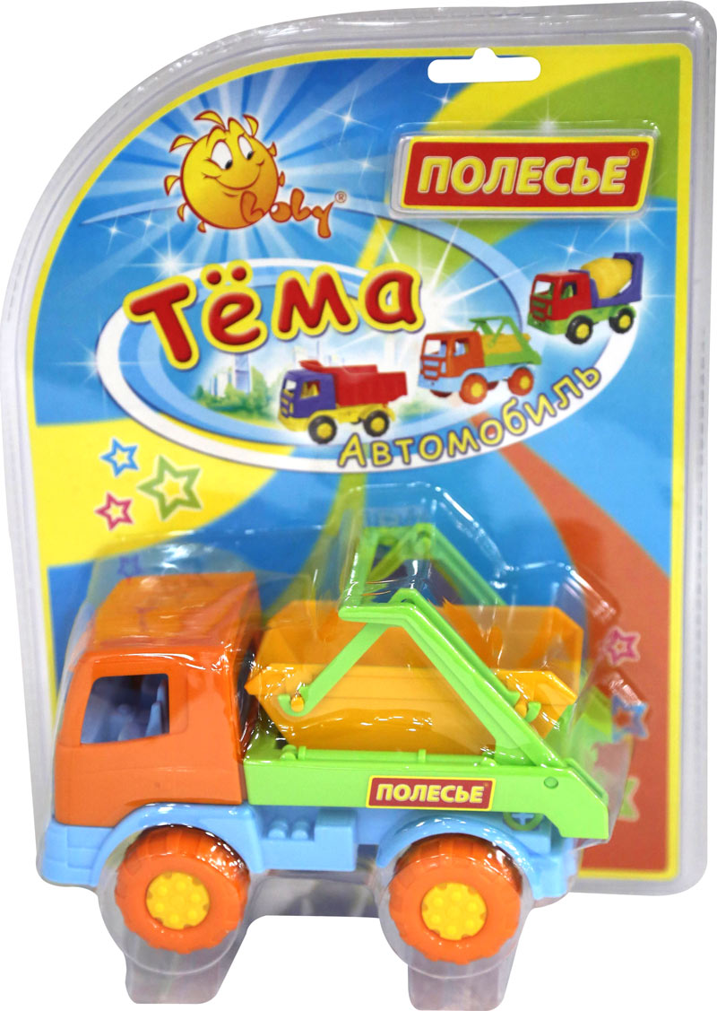 """Тёма"""", автомобиль-коммунальная спецмашина (в блистере №2)4915"""