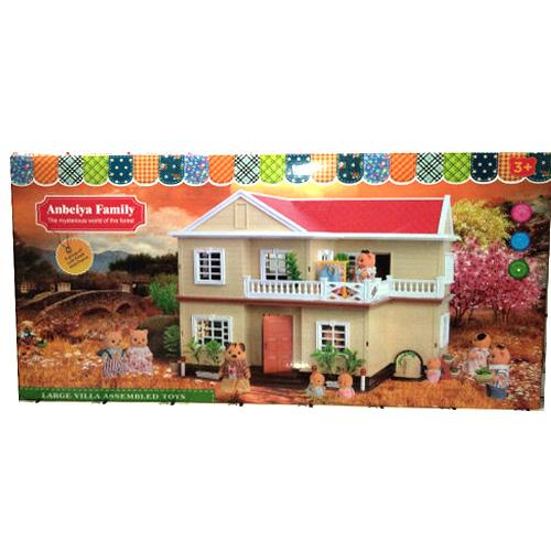 Кукольный домик для зверушек Anbeiya family 1512