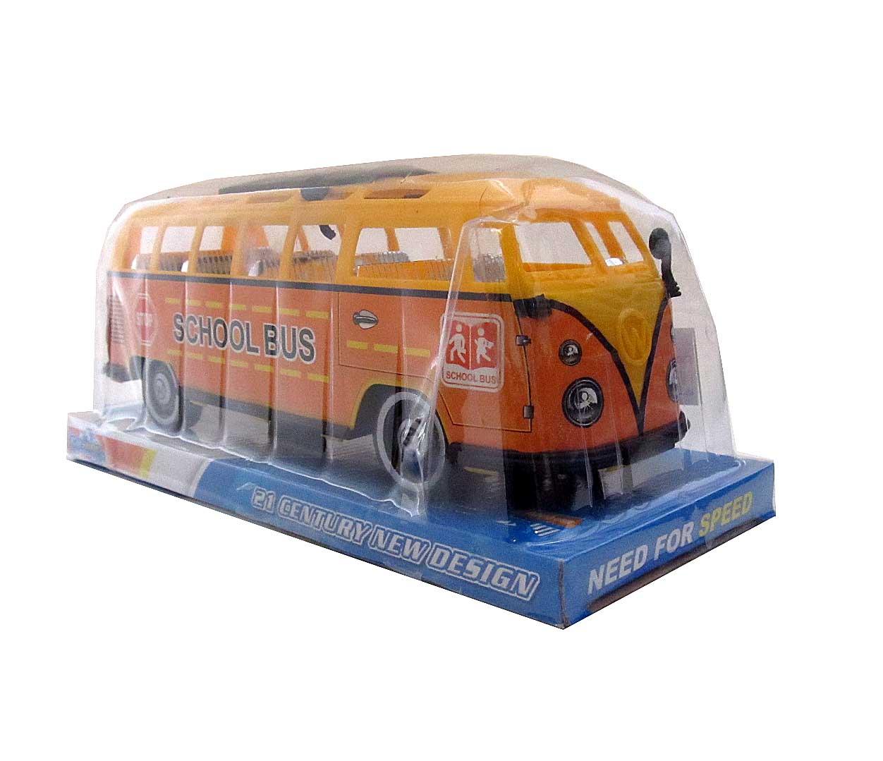 Автобус №TQ123-58A инерционный/колпак/28*11*12