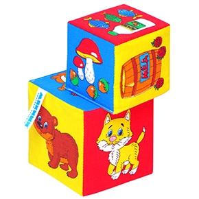 """Игрушка кубики """"Мякиши"""" (Чье лакомство?) (Арт. 168)"""