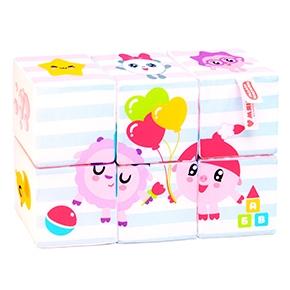 "Игрушка кубики ""Малышарики"" (Мультики) (6 кубиков) (Арт. 398))"
