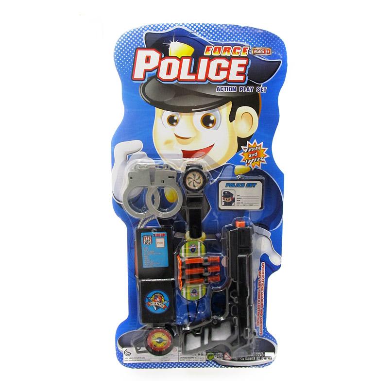 Набор полицейского №5822А-11/блистер*/52*26*4