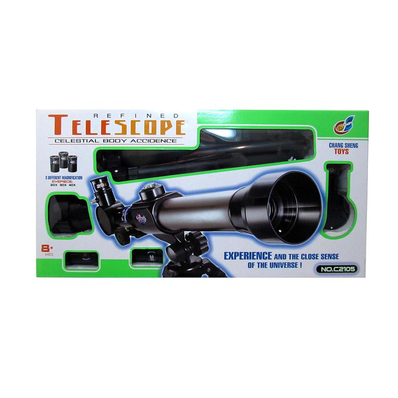 Телескоп №С2105/коробка/43,5*22,5*8