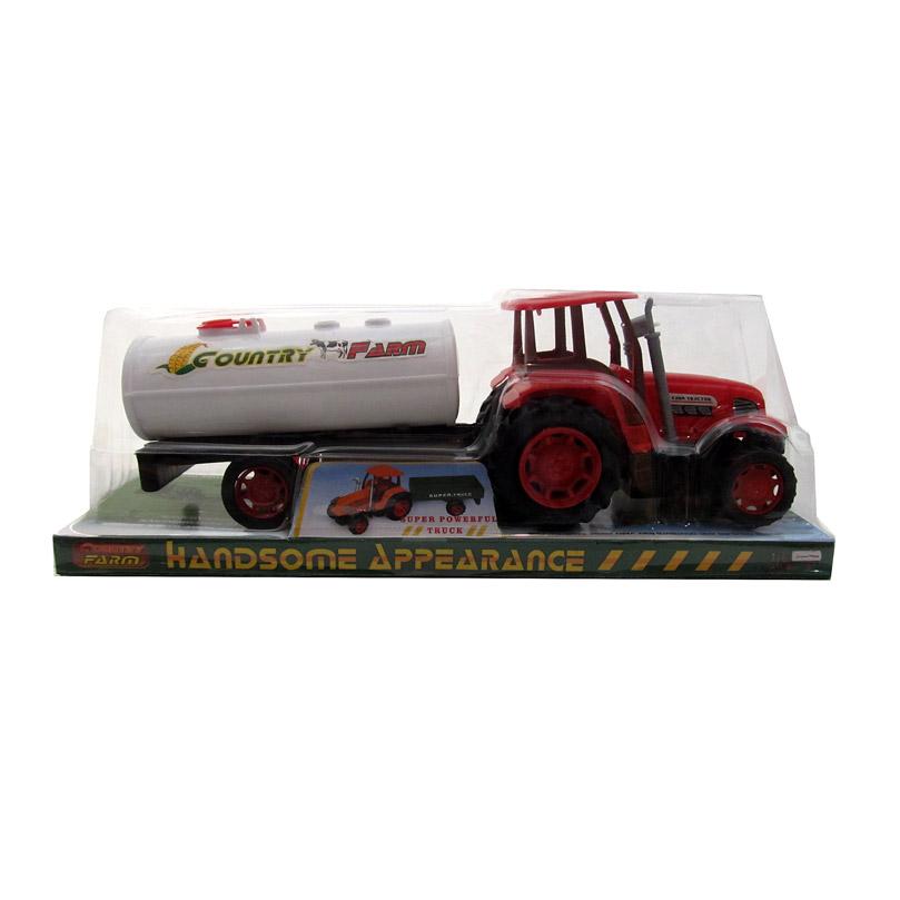 Трактор №0488-2 с прицепом/колпак/28*11*9