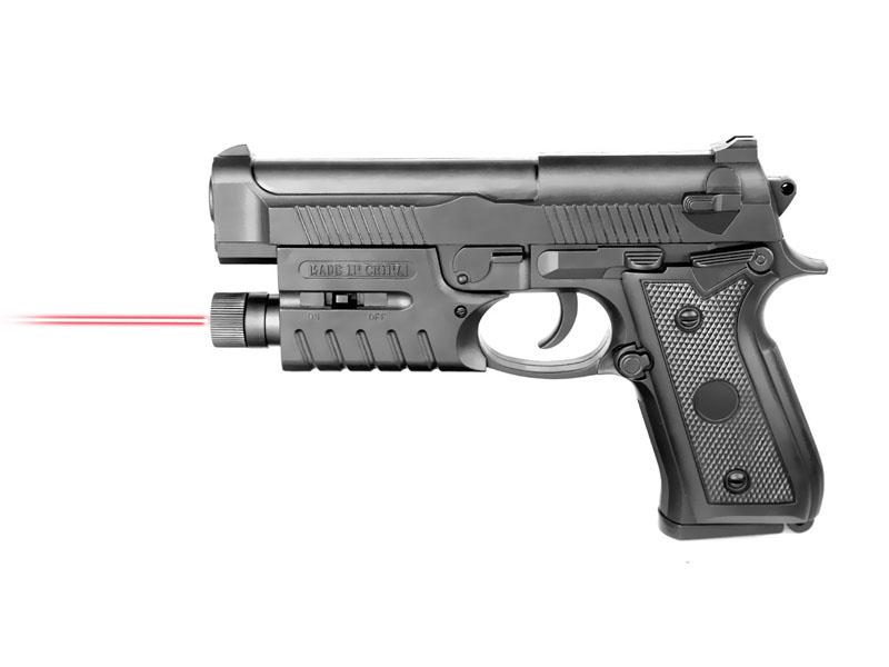 Пистолет 19см с лазерным прицелом на бат. в кор 038A-BB