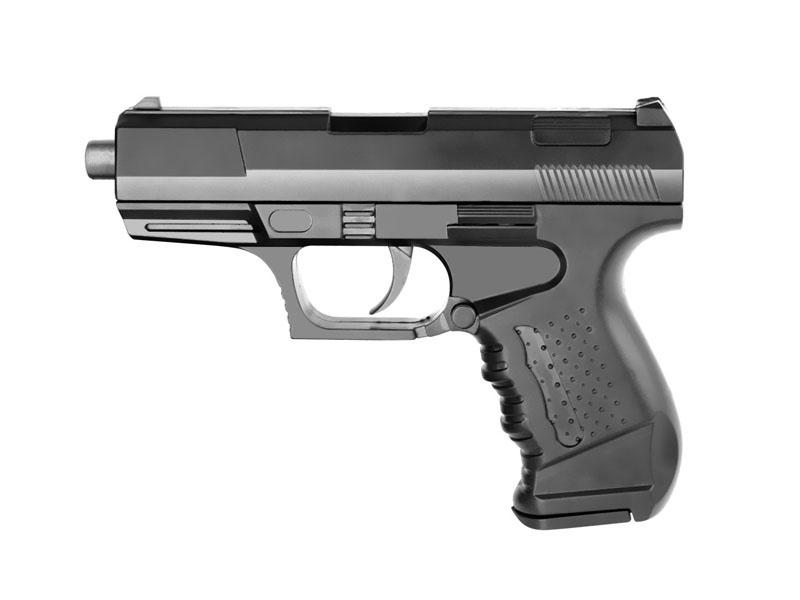 Пистолет 041-BB   13см в пак.