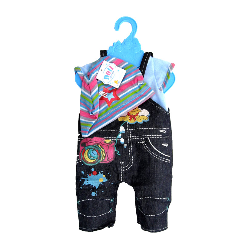 Одежда BLC13 для пупса в пакете 30*20*3 /48шт//бл.48/