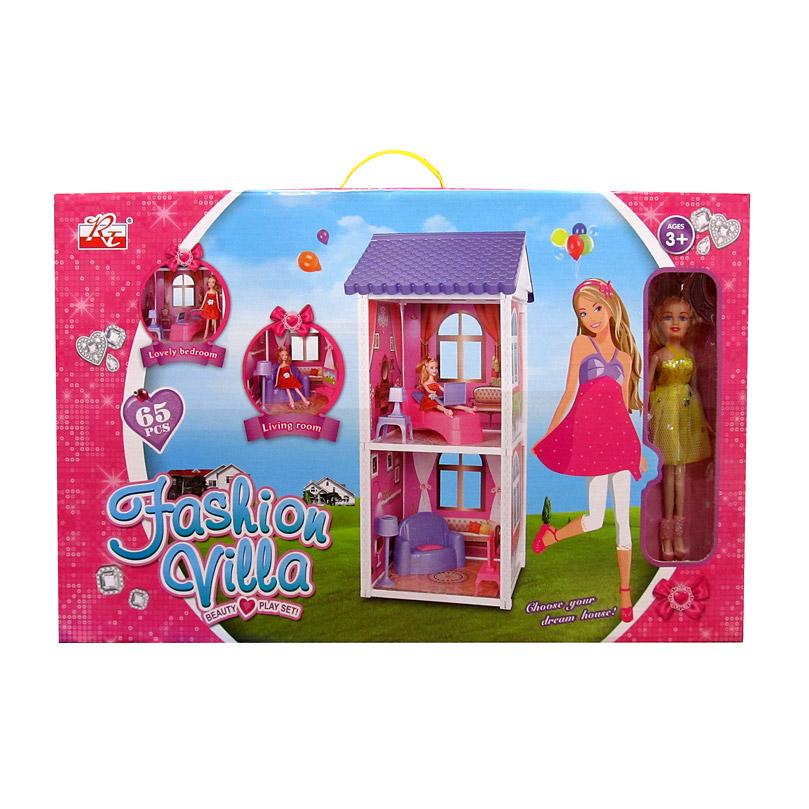 Игровой дом для кукол № 970/коробка/58*12*37