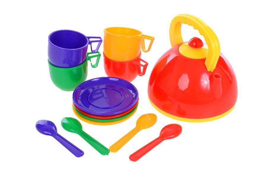 Набор  посуды  с чайником (13пред)