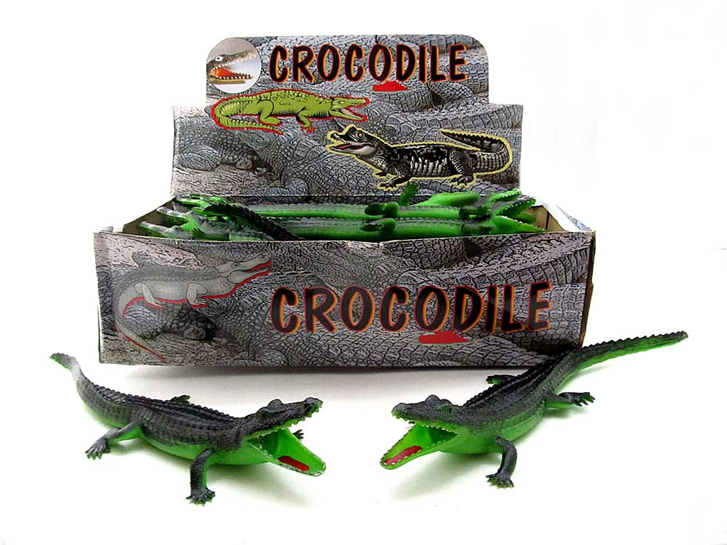 Крокодил H38W 13 резин.пищалка