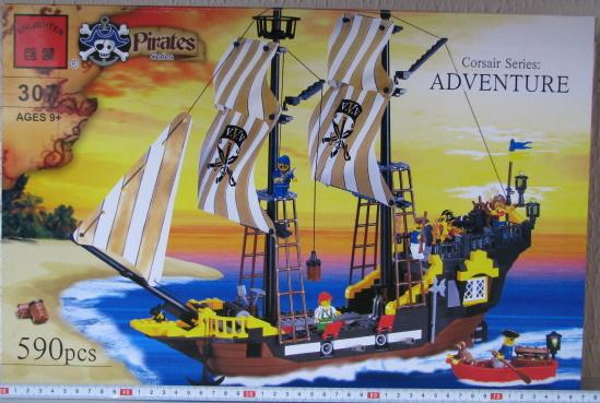 Конструктор BRICK 307 пираты