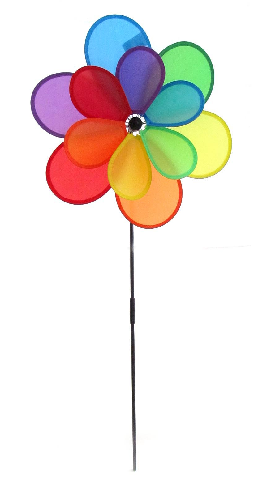Ветрячек цветок радуга двойной V28