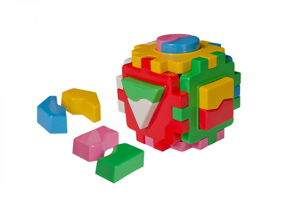 """Куб """"Умный  малыш"""" Логика 1(Технок)"""
