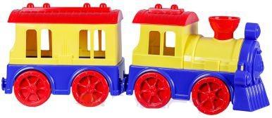 Поезд с вагоном