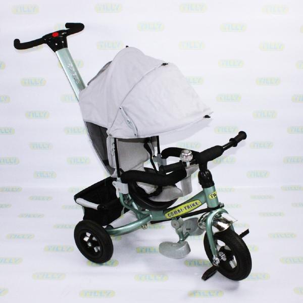 Велосипед трехколесный TILLY Combi Trike BT-CT-0015 GREY с надувными колесами /1/