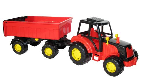 Мастер, трактор с прицепом №1 35257