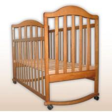"""Кроватка детская """"Наполеон"""" нат."""