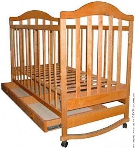 Кроватка детская Наполеон нат.ящик