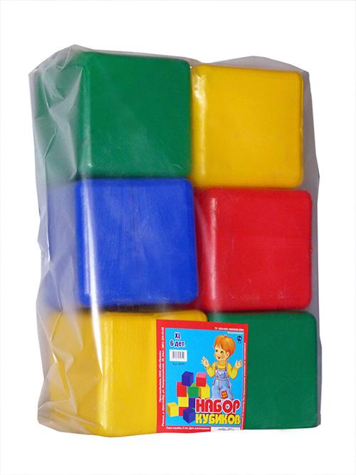 Набор Кубики XL 6 деталей