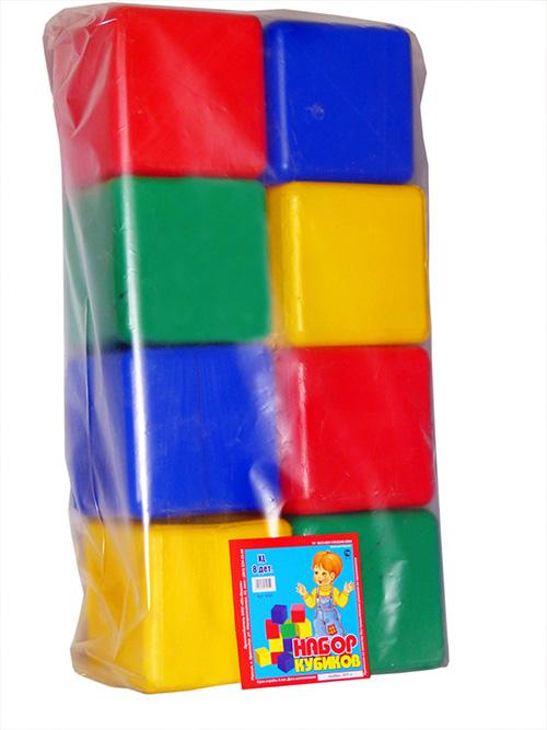 Набор Кубики XL 8 деталей