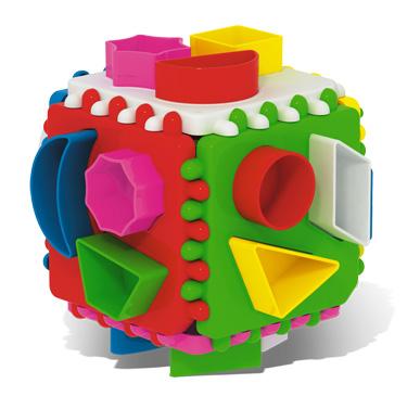 Логический куб подарочный 01316