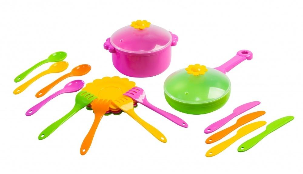 Набор посуды 39147 Ромашка 20 эл.