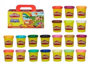 Play-Doh A7924 Набор пластилина 20 банок