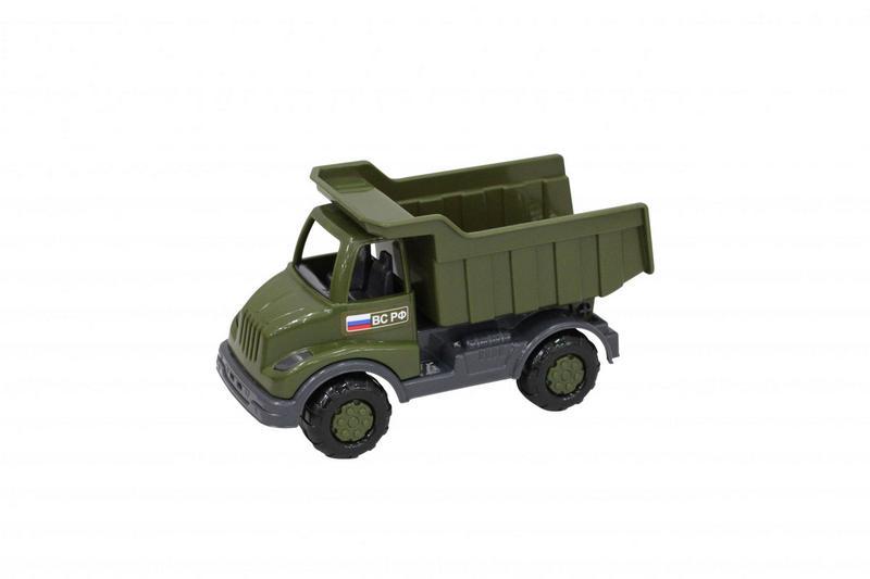 Кнопик автомобиль-самосвал военный 52032