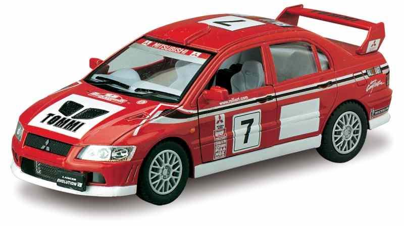 Модель металл  Мицубиши Lancer Evolution 7 WRC 5048D