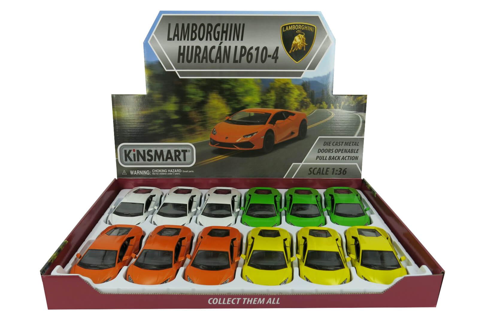 Модель металл Lamborghini Huracan LP610-4 5382D