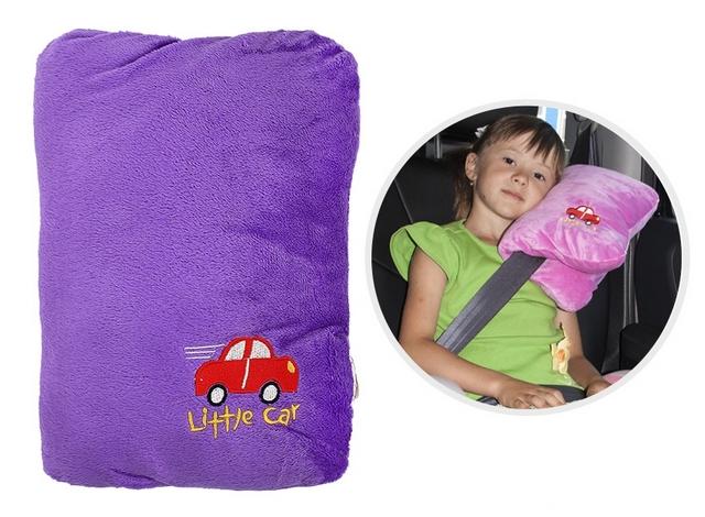 Подушка на ремень безопасности Little Car сиреневый