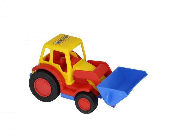 Базик, трактор-погрузчик (в сеточке) 9579