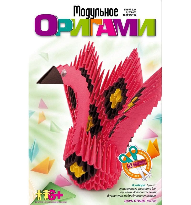 "Модульное оригами ""Царь-птица"" Мб-008"