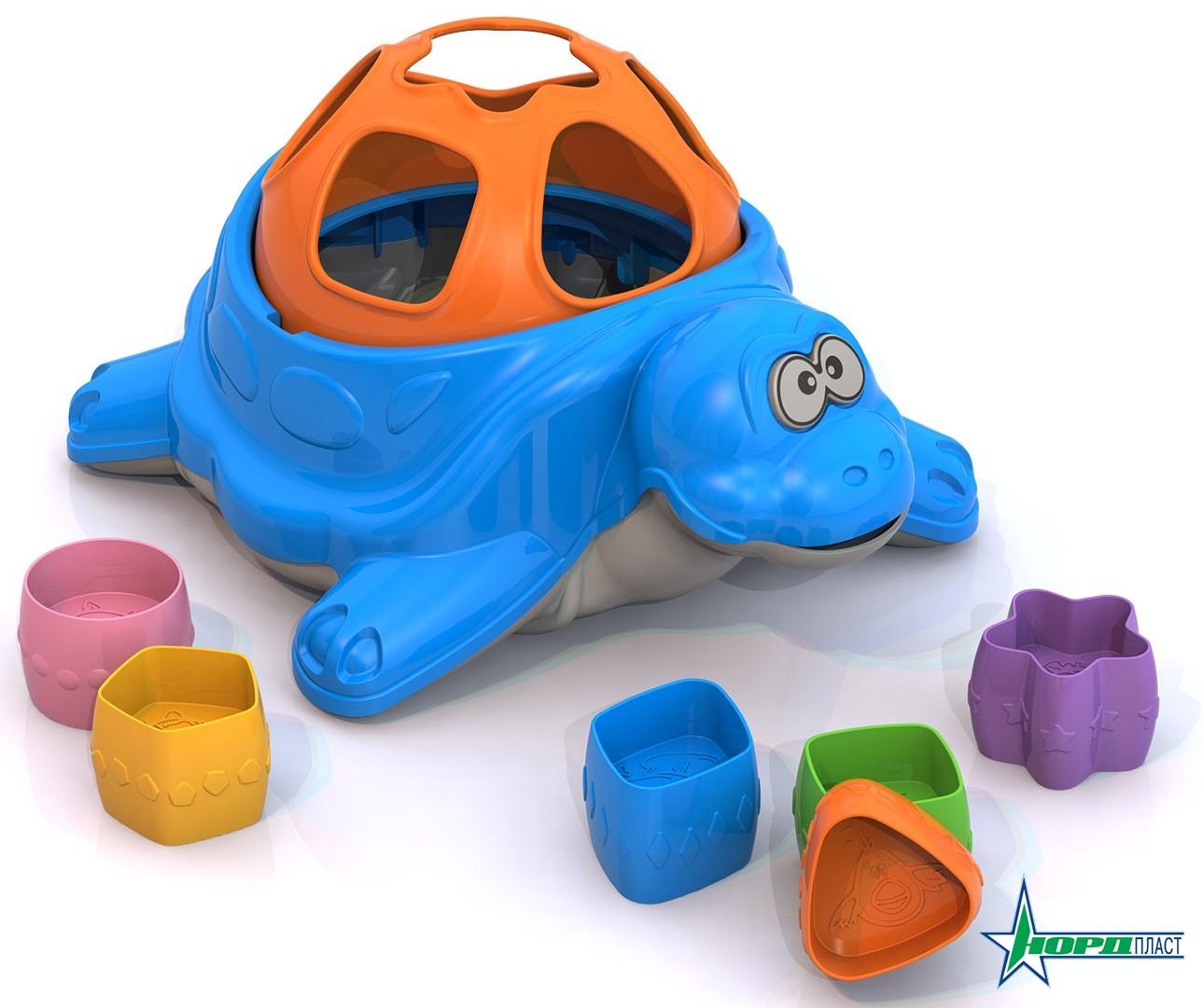 """Дидактическая игрушка """"Черепаха"""" 793"""