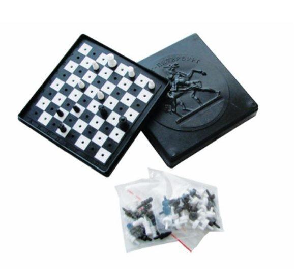 Игра комбинированная: шахматы, шашки 1/60  40005