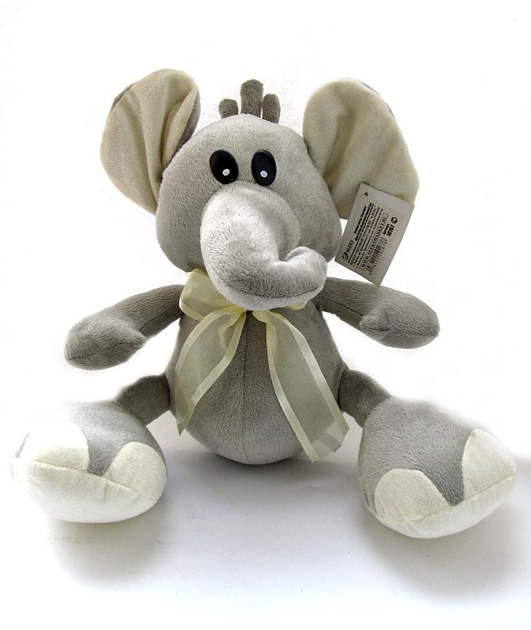 Мягкая игрушка Слон 1 цвет, Размер 45см, Искусственный мех  10167