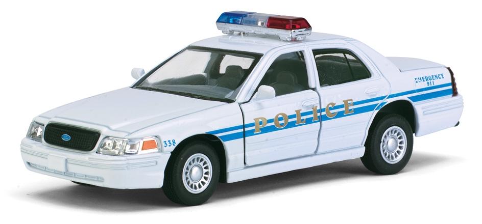 Модель металл 1:42 Форд полиция 5342D БЕЗ ИНДИВИДУАЛЬНОЙ КОРОБКИ