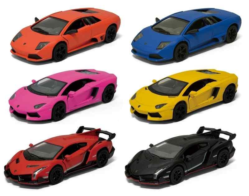 Модель мелалл  Lamborghini матовые 3 вида (Aventador LP 700-4/Murciel 5370D