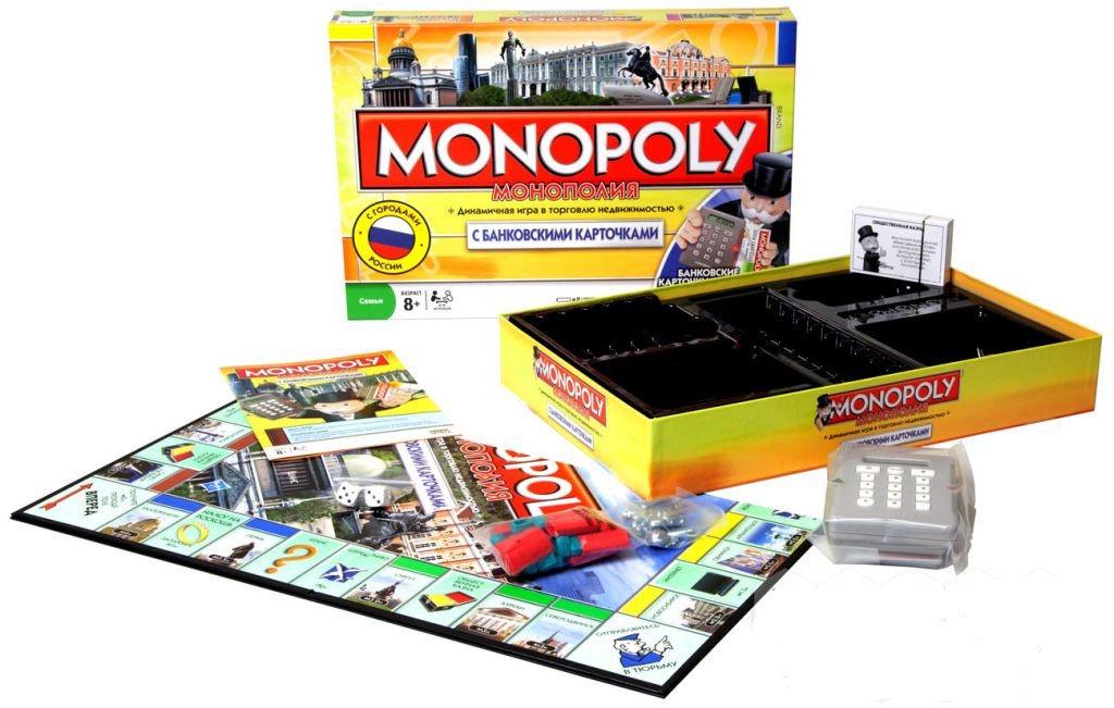 Настольная игра Монополия 6141
