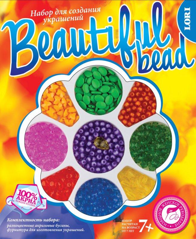 """Набор для создания украшений. Beautiful Bead (большой) """"Райский сад"""" Бус-017"""