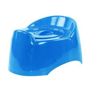 """Горшок туалетный детский """"Малышок"""" с крыш.(голубой) М1324"""