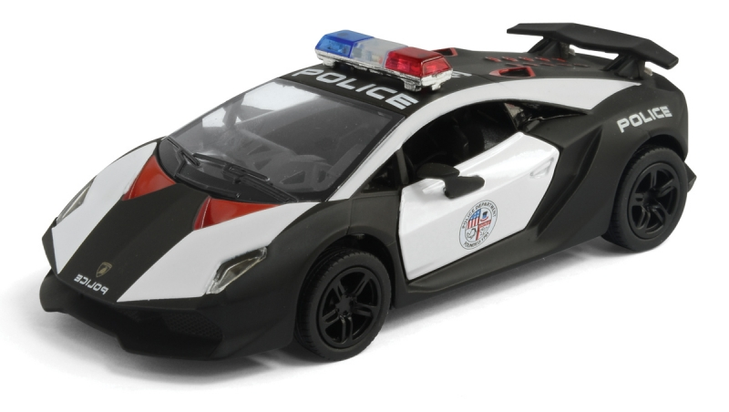 Lamborghini Sesto Elemento полиция