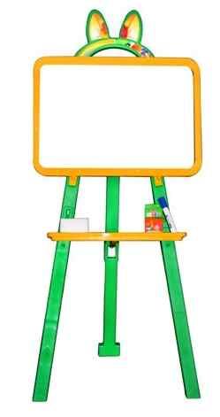 Доска для рисования артикул 013777 желто/салатовый