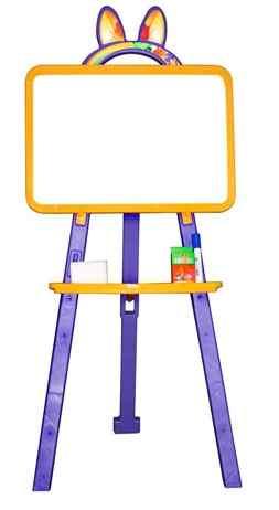 Доска для рисования артикул 013777 желто/фиолетовый