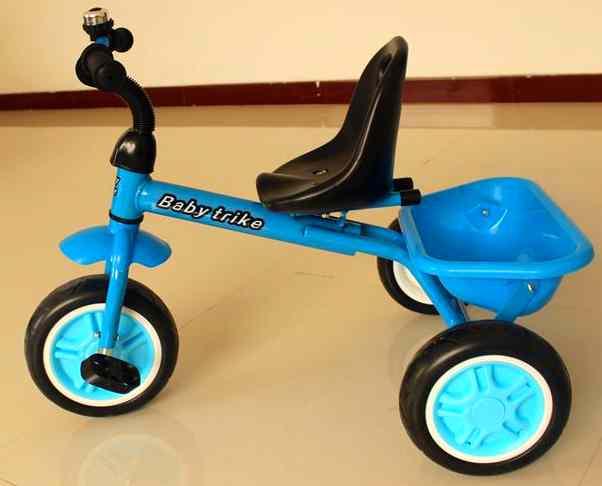 трёхколёсный велосипед (blue-green)  HLF-516