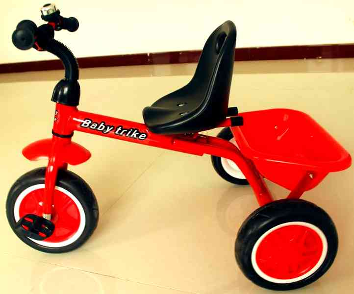 Трёхколёсный велосипед (red-green) HLF-516